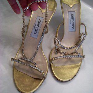 Jimmy Choo Women's Sandals Shoes Size 41